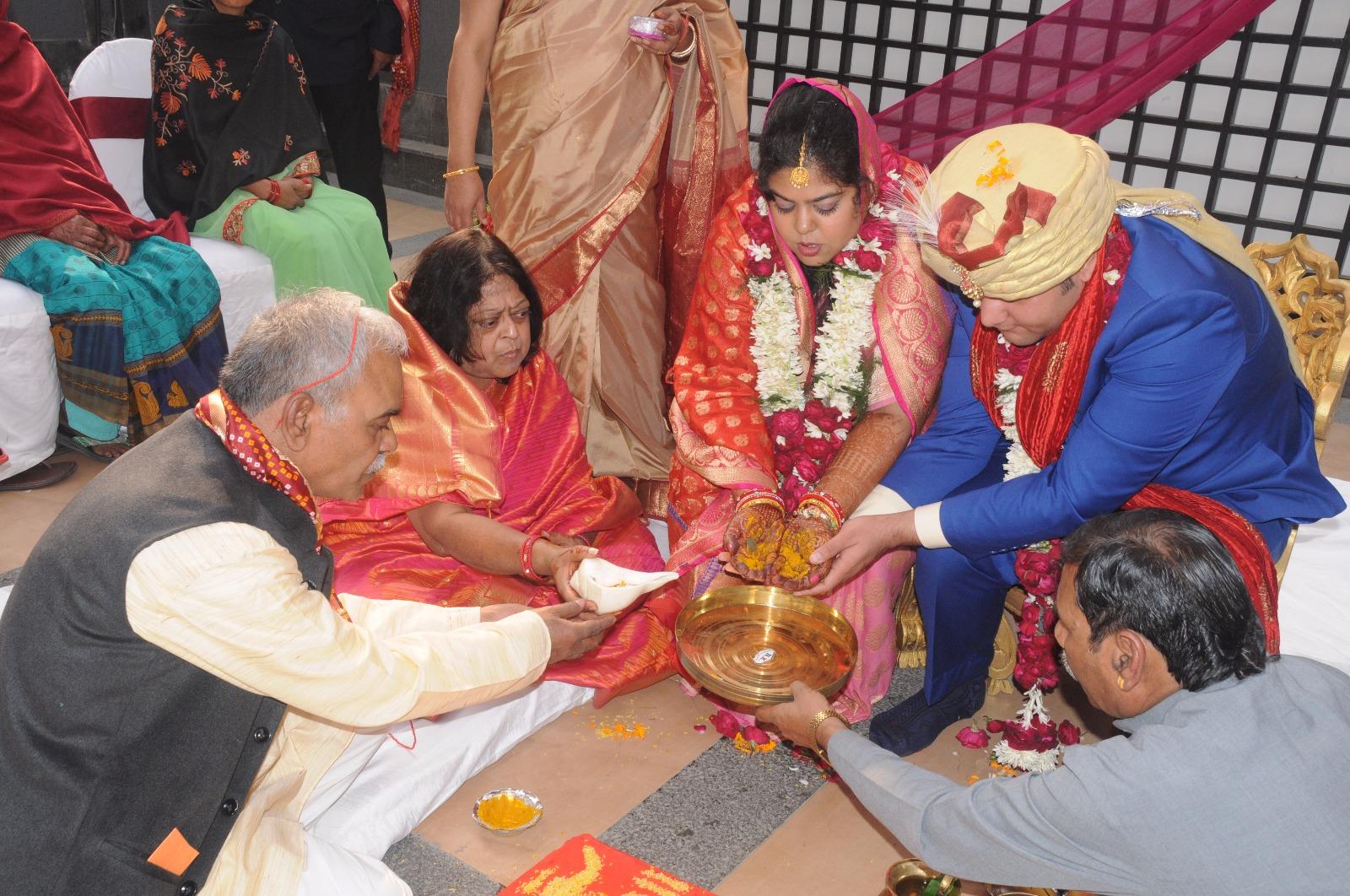 Simple Indian Wedding,