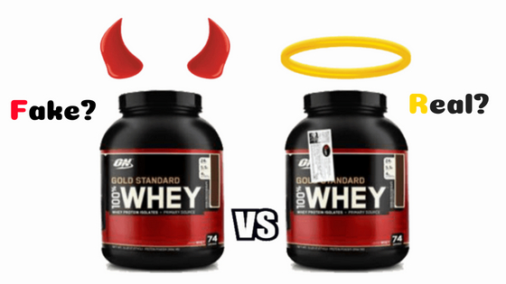 Whey Protein real or fake