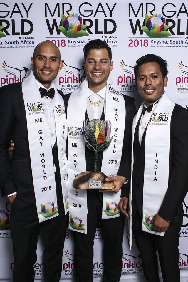 Samarpan Maiti Mr. Gay World 2018