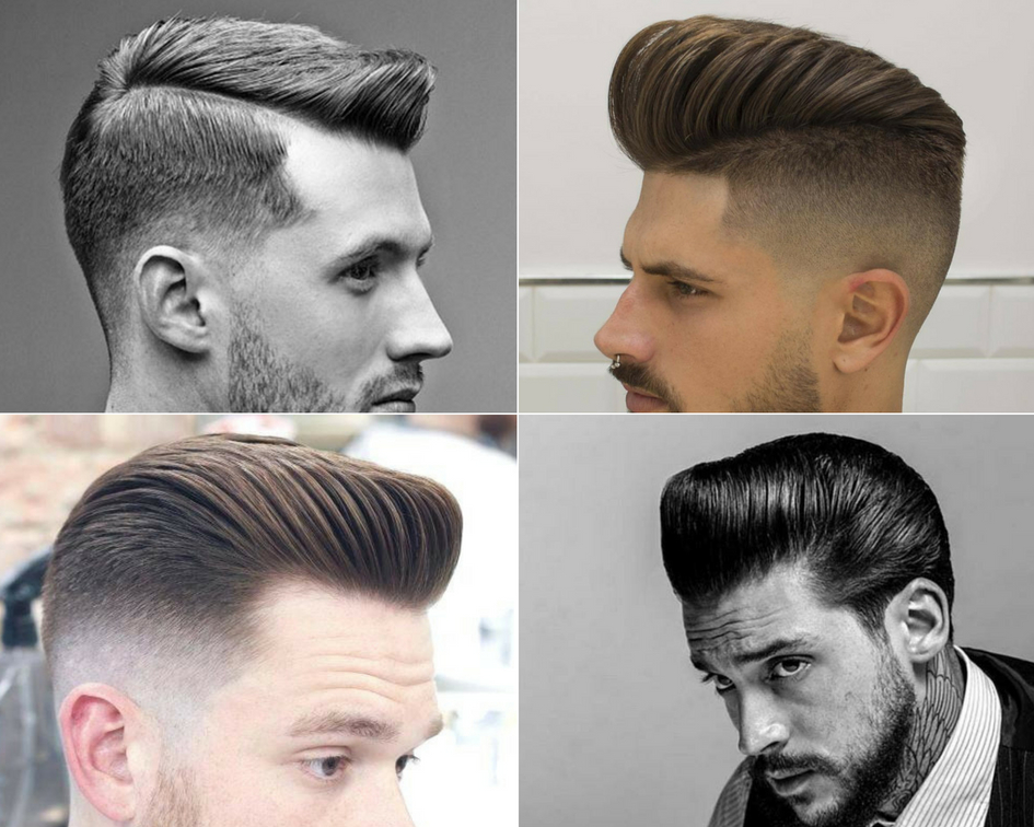 Relaxed Pompadour haircuts for indian men
