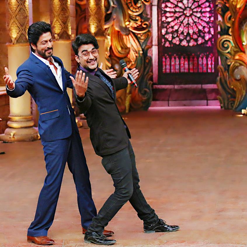 Rahul Arya Sand Artist With SRK