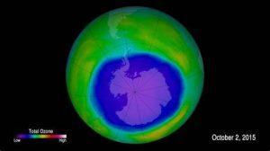 Earth Ozone Layer Is Healing
