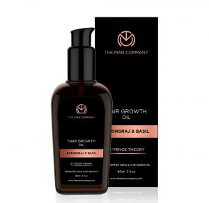 Best hair growth oil in men's grooming products