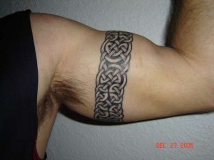 Celtic Knot Hand band tattoo for men