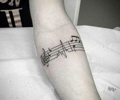 Innovative Forearm Band tattoo for men