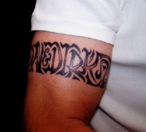 Techichinally Innovative band tattoos for men