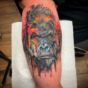 animal tattoo for men