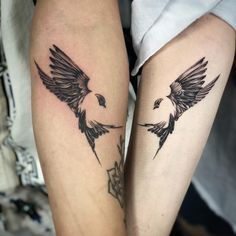couple small tattoo