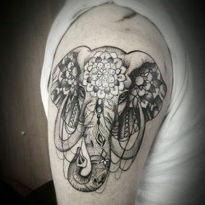 mandala tattoo design for men