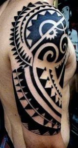 tribal tattoo for men in india