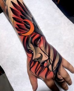 unique hand tattoos for men