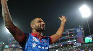 Shikhar Dhawan on field